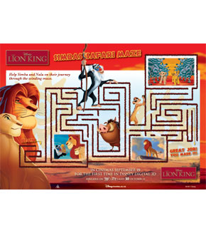 The Lion King - Maze