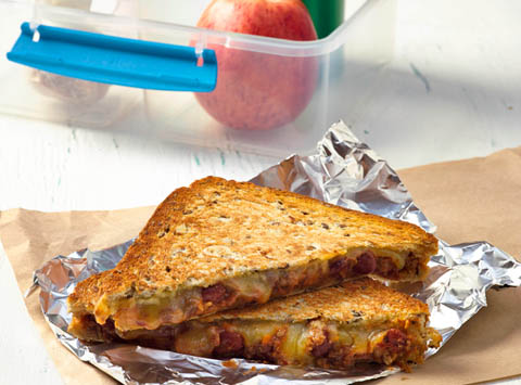 Protein packed sandwiches