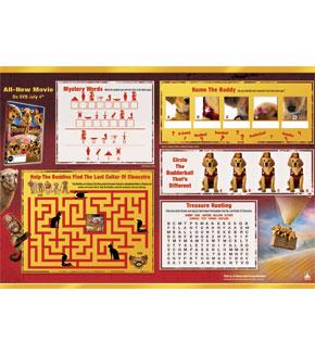 Treasure Buddies Activity Sheet 1