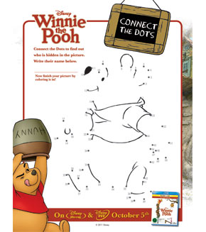 Winnie the Pooh - Connect the Dots