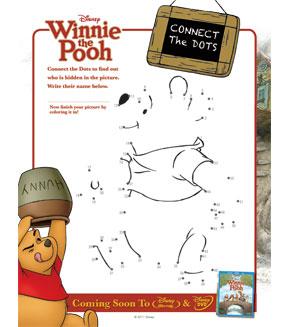 Winnie the Pooh - Dot to Dot