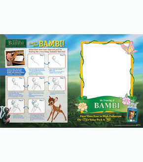 Bambi - How to Draw