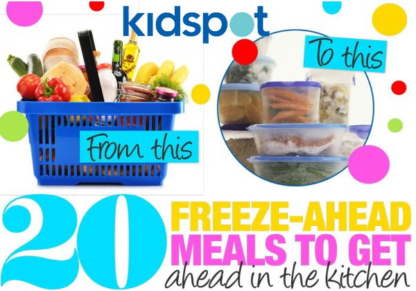 20 freeze-ahead meals