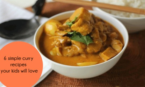 6 mild curries kids will love