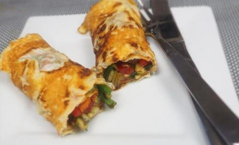 Egg roll-your-own-ups