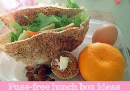 Fuss-free lunch box ideas for good nutrition