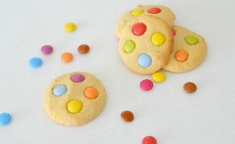 Smartie biscuits