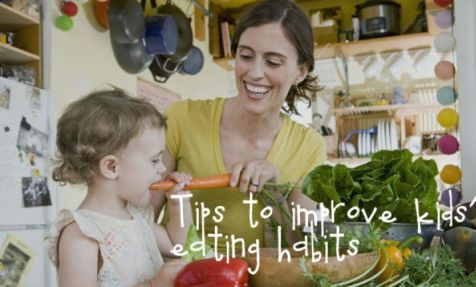 Improve your childs eating habits