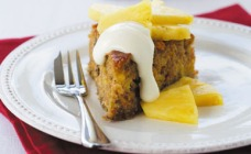 Tropical Gold Pineapple and Carrot Cake