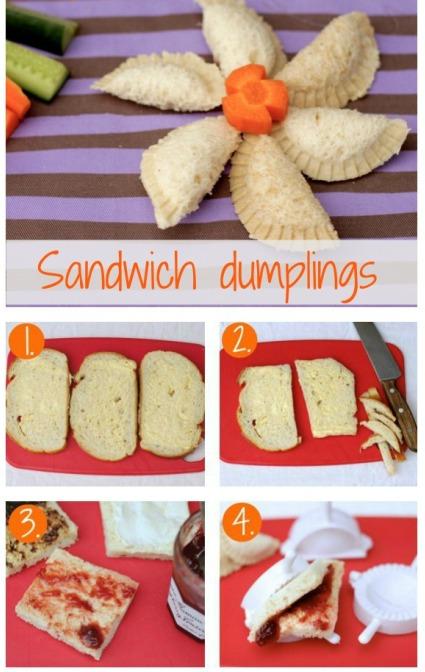 Sandwich dumplings