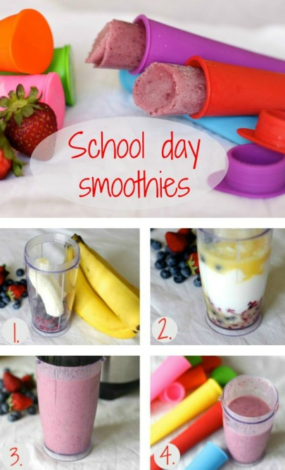 School day smoothies