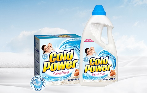 cold power sensitive laundry detergent