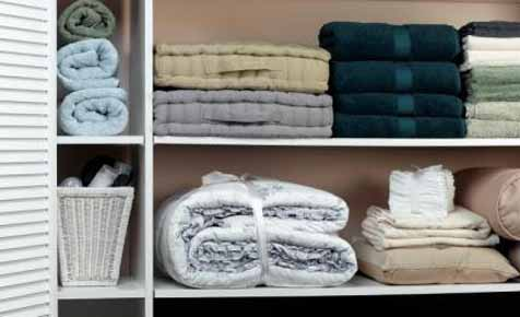 Organise your linen cupboard in 5 easy steps