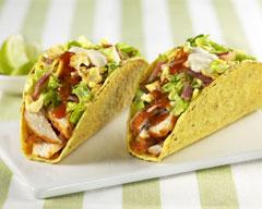 Chicken Caesar Tacos