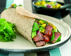 Beef and Capsicum Fajita