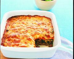 Easy Tortilla Lasagna