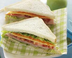 Ham, Cheese and Salad