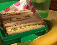 Nana's club sandwiches