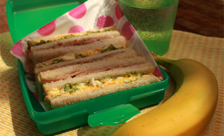 Nana's Club Sandwiches