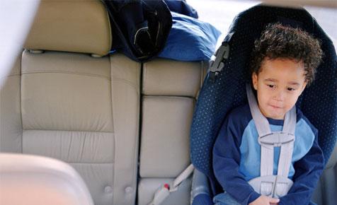 Curing car sickness