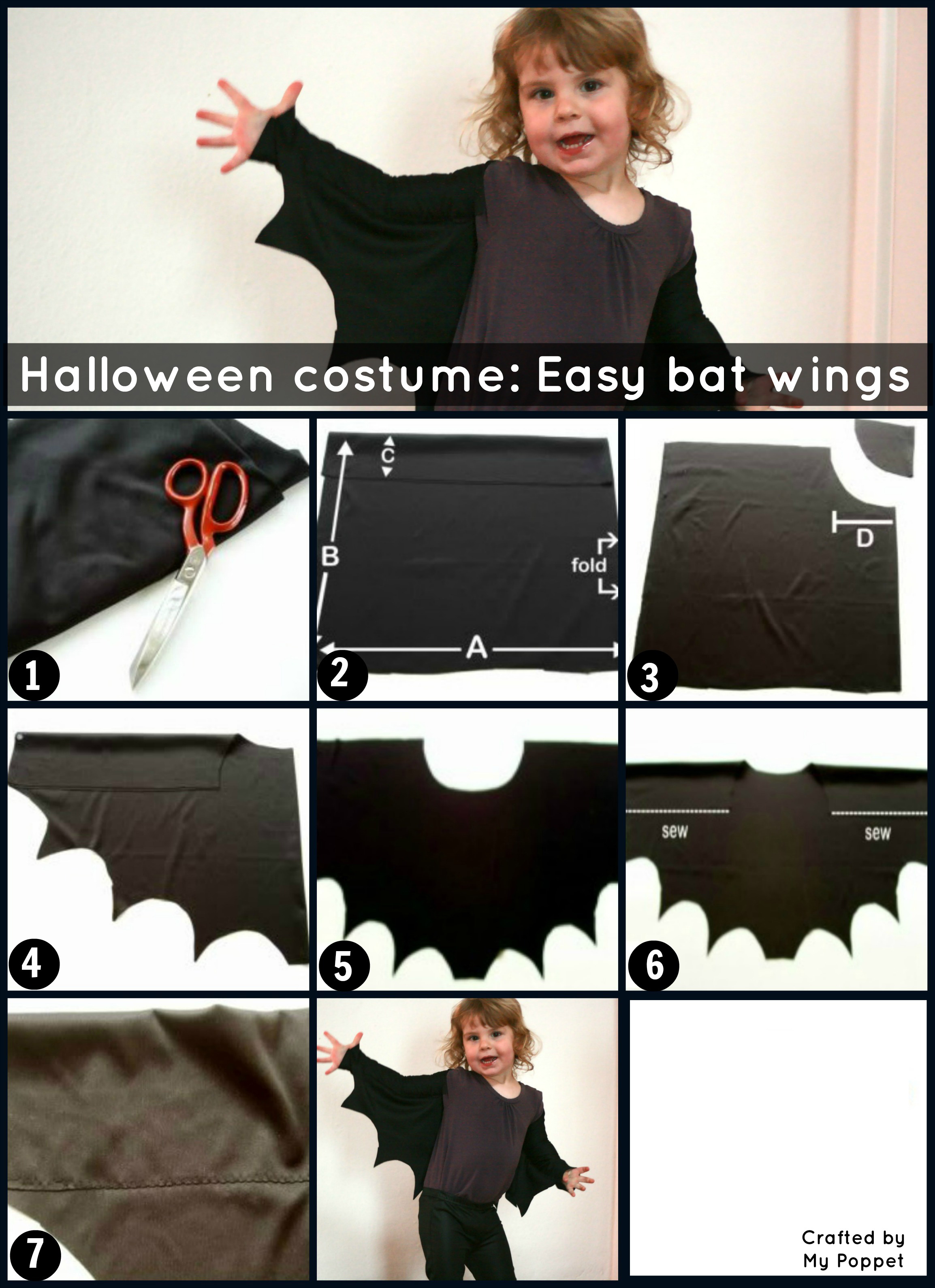 Bat wings book week make your own crafted by my poppet solutioingenieria Image collections