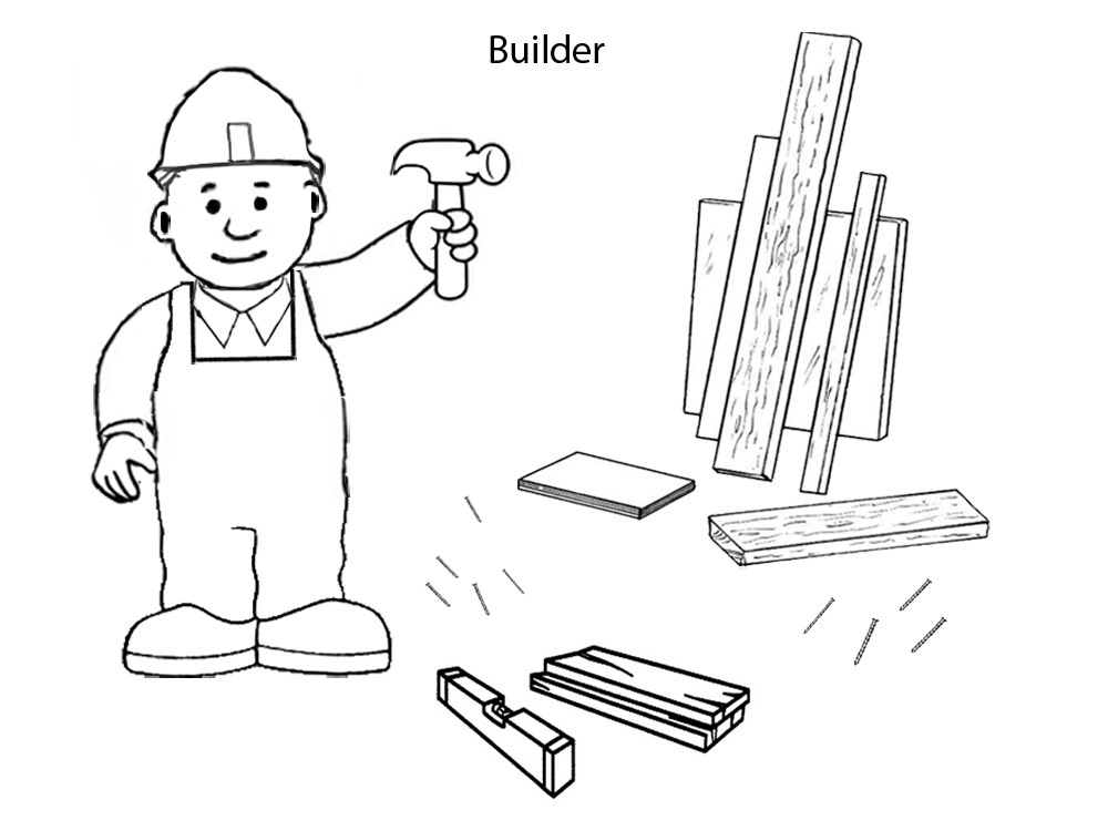 Printable Colouring Pages Builder
