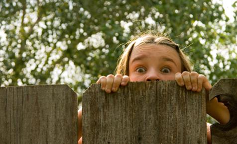 Common fears in older kids